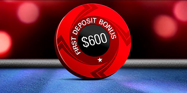 Бонус $600 от рума Pokerstars